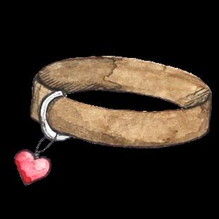 Halsband Herz_transparenter Hintergrund_Aram und Abra